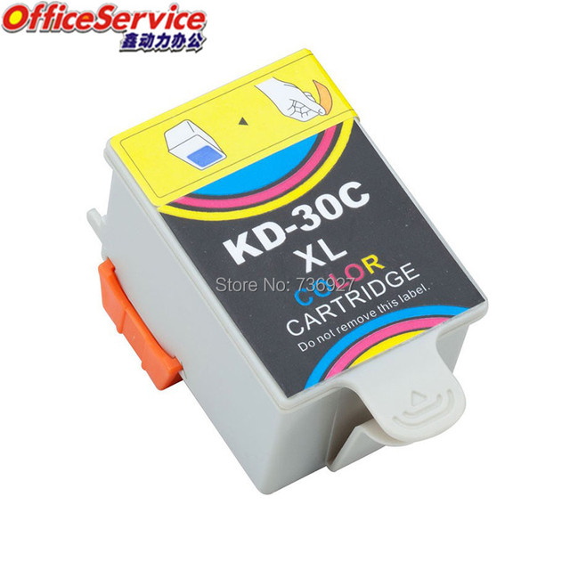 1 Tri Color KD30 KD30C Compatible Ink Cartridges For Kodak ESP C110 C310 C315 Office