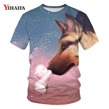 Men Women T-shirt 3D Wolf Graphic T shirts Fashion Short Sleeve Casual Animal Tees O-Neck Unisex Summer Tops Couple Tshirts 2019 wolf printed 3d t shirts men t shirts new design tops tees men women short sleeve shirt summer harajuku wolf animal xxxxl