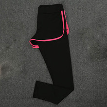Women's Fitness Yoga Suit Quick-drying Sports Pants Outdoor Running Sweat-absorbent Slim Stretch Trousers Workout Clothes children s xxs 4xl couples outdoor quick drying pants jacket sports fitness men women running absorb sweat quick dry jacket