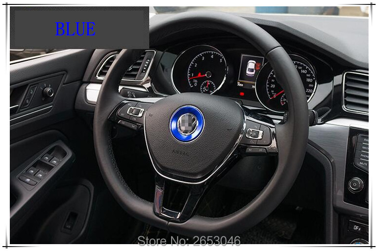 2017 new accessories the steering wheel decoration ring for volkswagen polo passat b5 b6 b7 t4. Black Bedroom Furniture Sets. Home Design Ideas