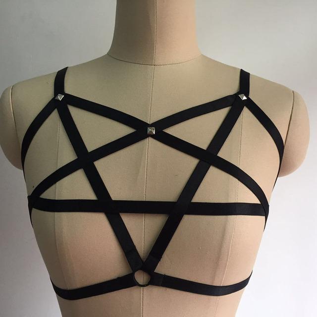 Gothic Harness Garter