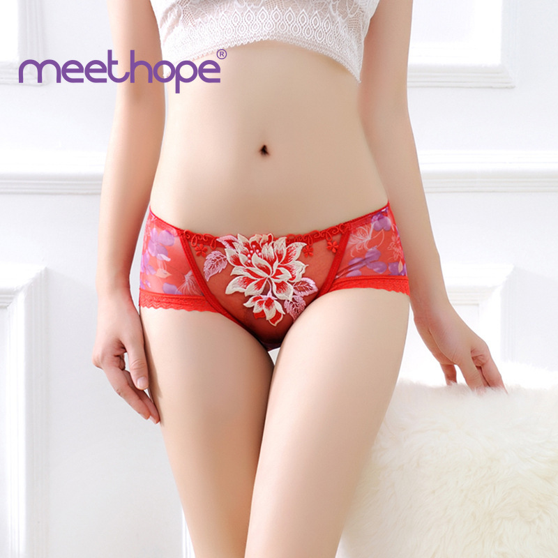 Erotic Womens Underwear Lace Transparent Sexy Female G String
