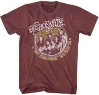 Aerosmith Get Your Wings U S Tour 74 Adult T Shirt Rock Music