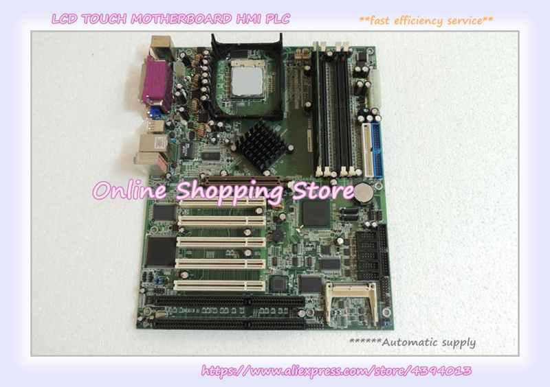 ICPMB 8650GR REV:1.1 2 ISA slots main board of industrial control motherboard