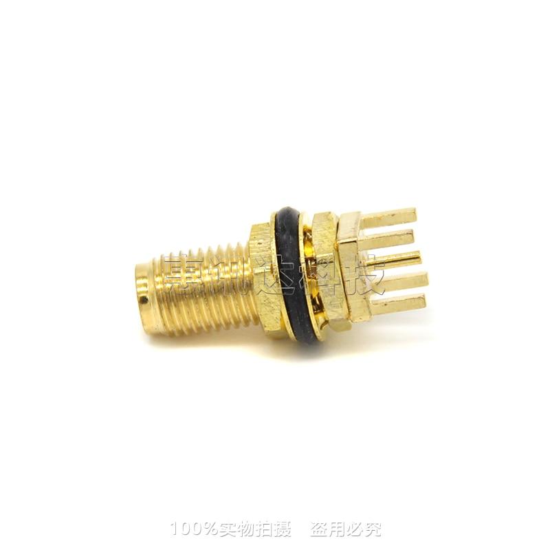 SMA-KYE15 SMA-KYHD SMA vier pin base vrouwelijke schroef binnenste gat lassen PCB panel 15 voeten lange