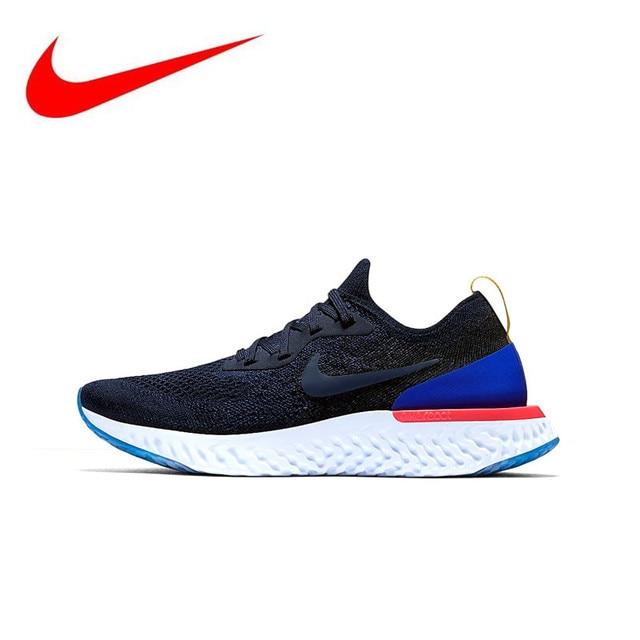 5a3c6bcd Dziennik Oryginalny Nike Epic Reagują Flyknit mężczyzna Działający Buty  Trampki Sportowe Dobrej Jakości Na Zewnątrz Męskie