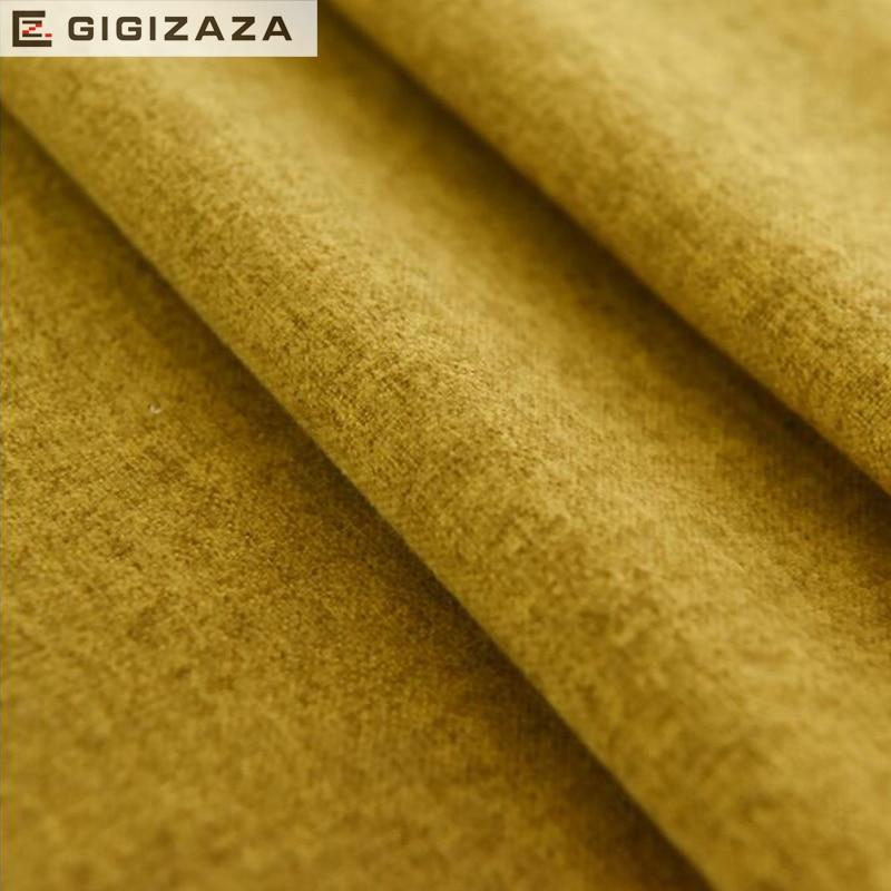 GIGIZAZA Yumşaq Toxunuş Qatı Rayon Pambıq Yaşayış otağı - Ev tekstil - Fotoqrafiya 3