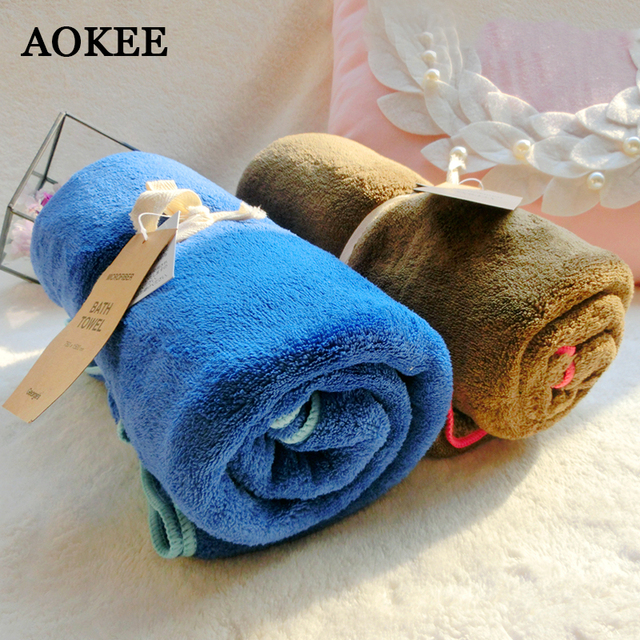 Father S Day Gift Microfiber Towel Bath For 75 150cm Thick Beach Serviette