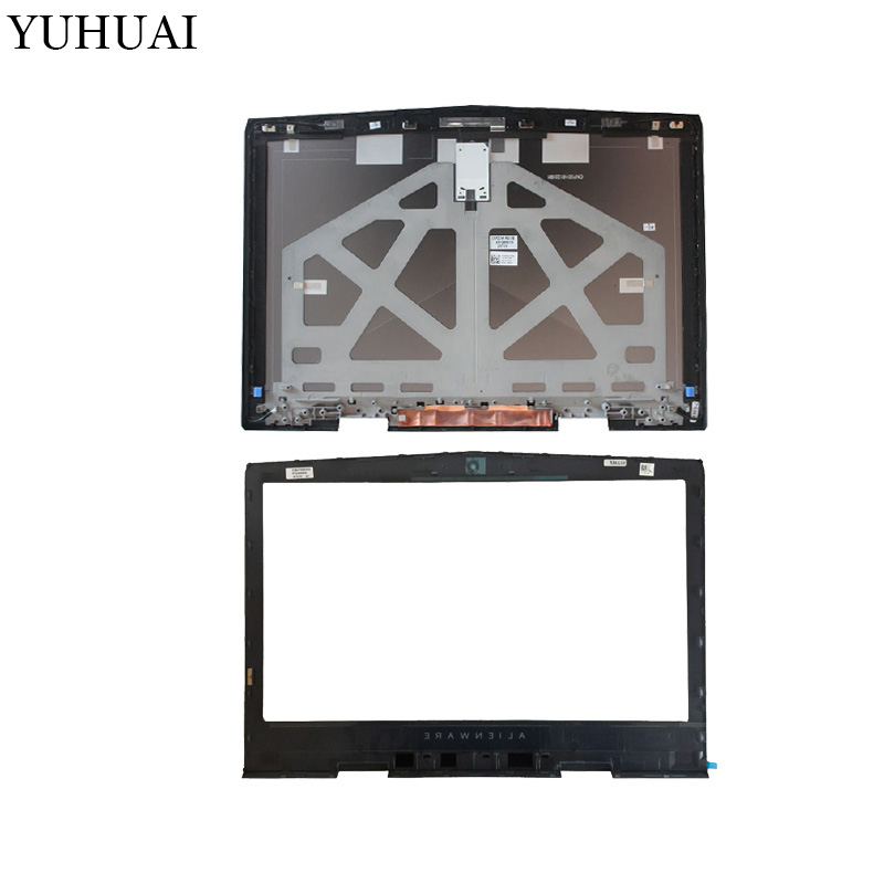 NEW laptop LCD TOP cover/LCD Front bezel for DELL Tobii alienware 17 R4 0PN5XV 05GVP2 A and B shell new laptop lcd top cover lcd front bezel for dell tobii alienware 17 r4 0pn5xv 05gvp2 a and b shell