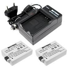 1500mAh LP-E5 LPE5 LP E5 LI-ION  Battery (2 pack) & Charger Kit for Canon EOS Rebel XS, Rebel T1i, Rebel XSi, 1000D, 500D, 450D