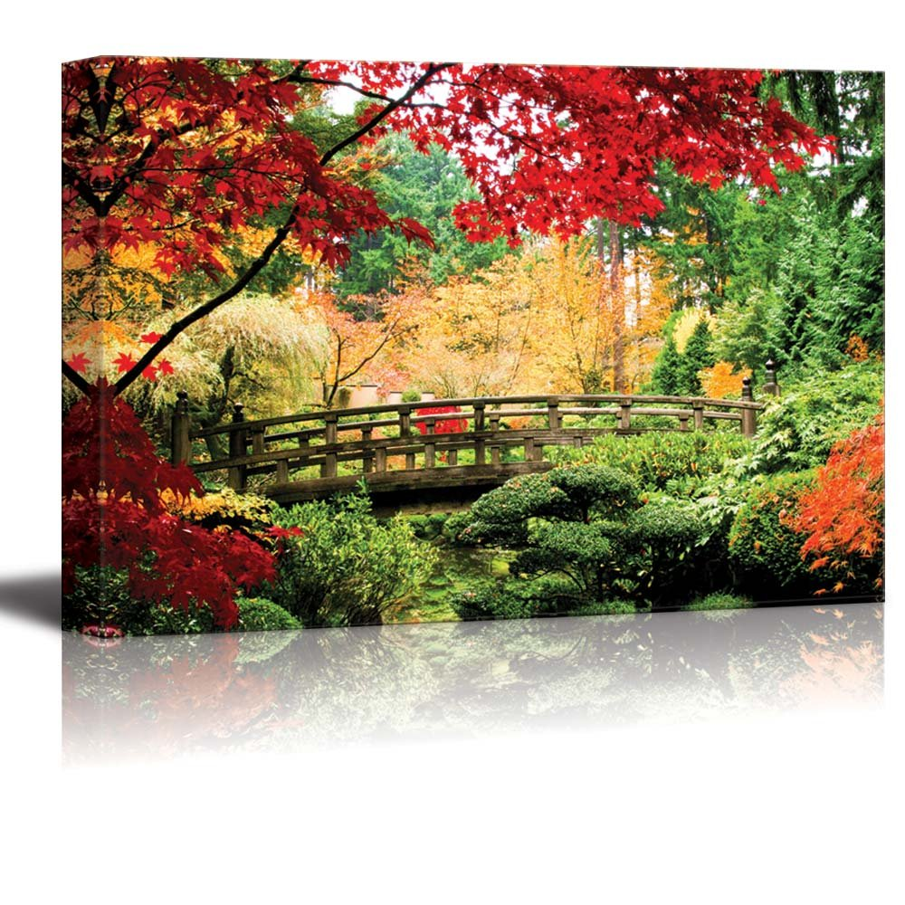 """Autumn Fallen Leaves Forest Path Nature Art Silk Poster Picture 13x20 24x36/"""" 003"""