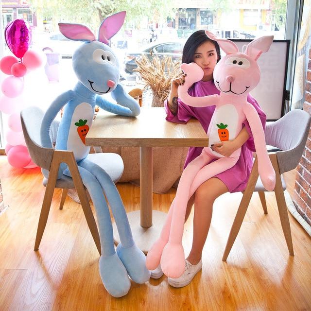 70cm/90cm/110cm/150cm/190cm cute rabbit plush toy stuffed soft doll baby kids toys animal toy birthday valentine gift for lover