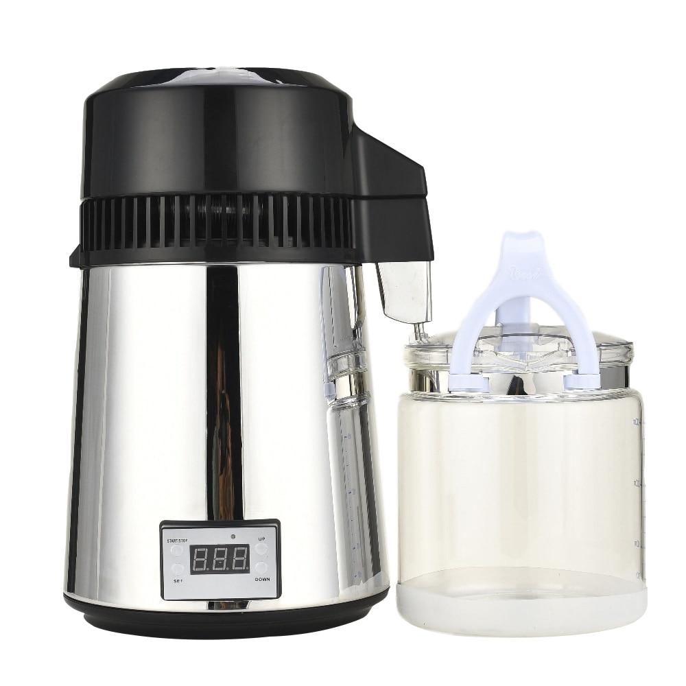 YUEWO 4L/1Gal Moonshine Kit distillateur d'alcool distillateur d'eau avec bouteille de connexion Kit de fabrication de vin à la maison