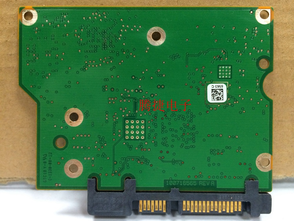 hard drive parts PCB logic board printed circuit board 100716565 for Seagate 3.5 SATA hdd data recovery hard drive repair