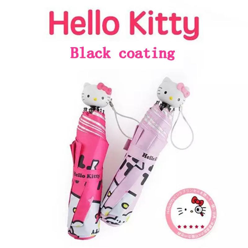 Hot Beau Dessin Animé Bonjour Kitty Enfants Anime Parapluie