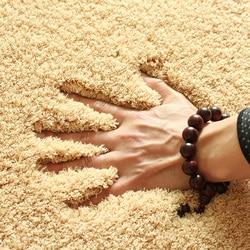 Solid Color Fashion Home Carpet Living Room Area Decor Soft Door Carpets Warm Colorful Bedroom Floor Rugs Slip Resistant Mats