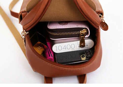 المرأة محفظة أنيقة صغيرة رباط سحب لحقيبة ظهر جلدية السيدات سفر أسود صغير الظهر الساخن سيدة فتاة الحقائب المدرسية