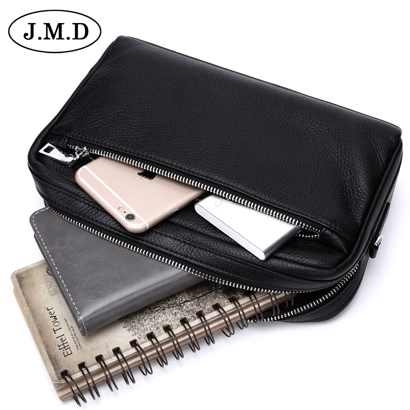 J.M.D Genuine Leather men shoulder Bags small Bag Real Cowhide Handbags male messenger bag Business crossbody bag 8127