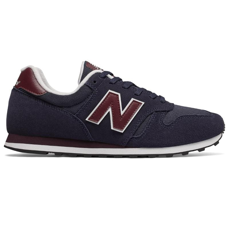 NEW BALANCE Mens Unisex ML373BUP, Free And Time Sportwear, Navy