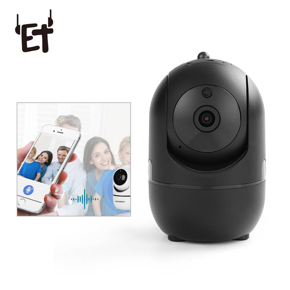 ET 1080P Full HD WiFi Camera Wide Angle Night Vision Camcorder Professional Smart Home Intelligent Tracking Network Video Camera