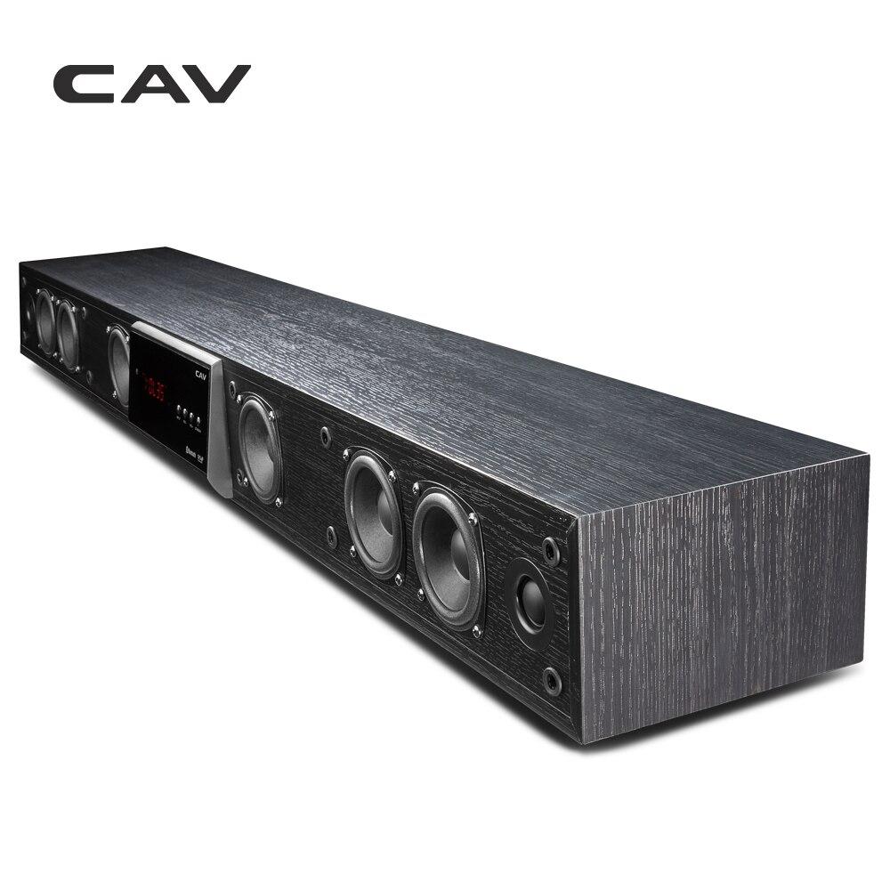 CAV TM1100 Barre de son Bluetooth sans fil d'surround de cinéma à la maison de TV Surround virtuelle DTS pour barre de l'amplificateur