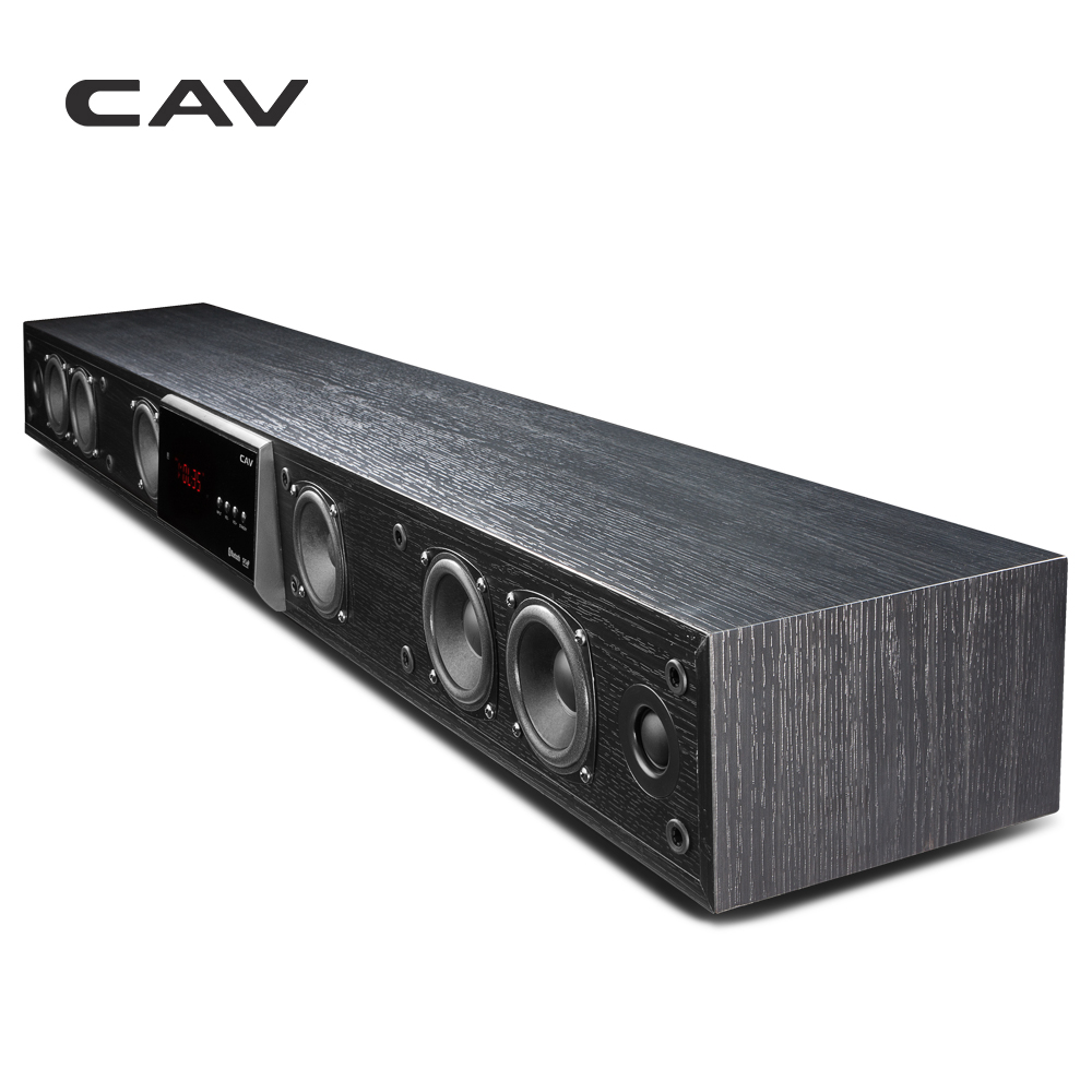 CAV TM1100 Coluna Home Theater DTS Soundbar Virtual Surround Soundbar Para TV Sistema de Som Surround Sem Fio Bluetooth Speaker