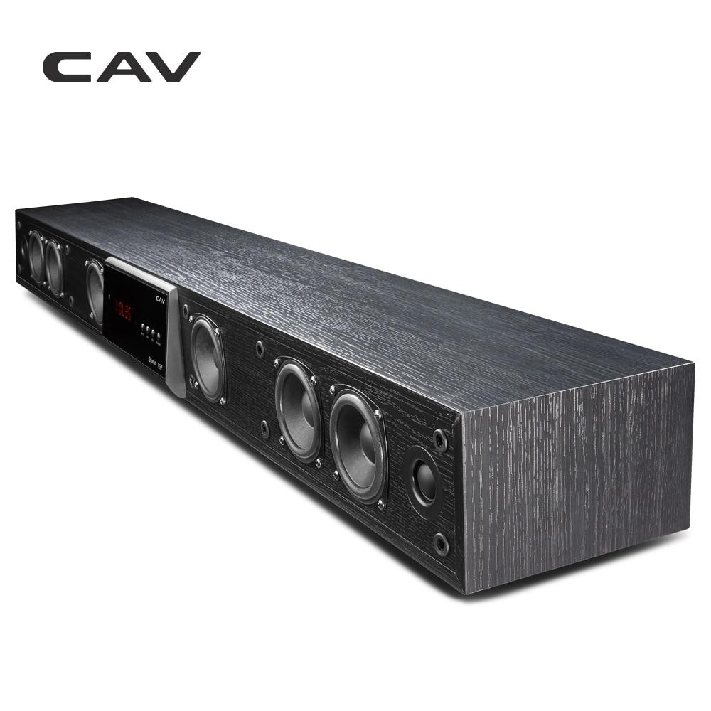 CAV TM1100 Soundbar Colonna Home Theater DTS Surround Virtuale Soundbar Per La TV Sistema Audio Surround Altoparlante Senza Fili del Bluetooth
