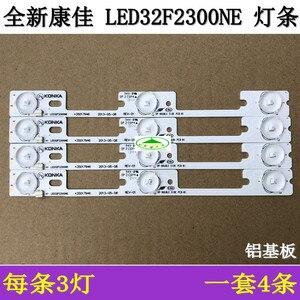 Image 3 - 4 adet/grup yeni ve orijinal Konka için LED32F2300NE LED32F2300FX ışık çubuğu 35017946 35017948 arka lamba LED şerit 6 v