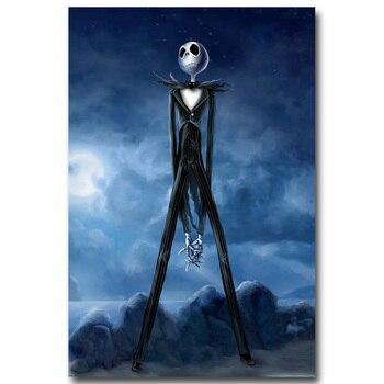Плакат Гобелен Шелковый Джек повелитель хэллоуина вариант 2