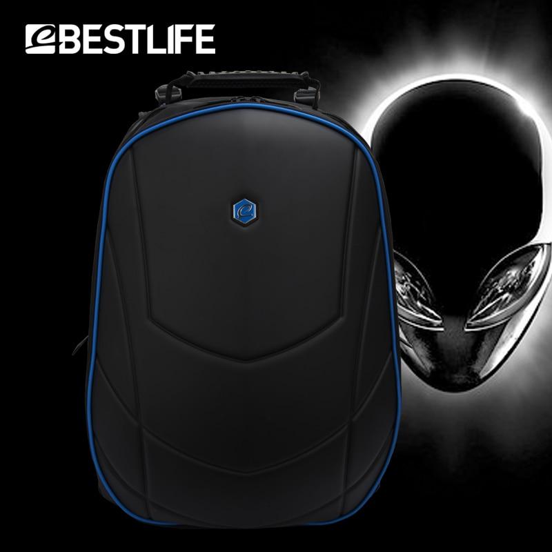 BESTLIFE الرجال الفاخرة 3D على ظهره 17.3 بوصة المحمولة مكتب حقيبة لابتوب ل من Alienware ل فأل حقيبة السفر Mochilas-في حقائب الظهر من حقائب وأمتعة على  مجموعة 1