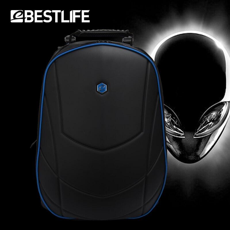 BESTLIFE hommes luxe 3D sac à dos 17.3 pouces Portable bureau pochette d'ordinateur pour Alienware pour Omen voyage sac à dos sac à dos Mochilas