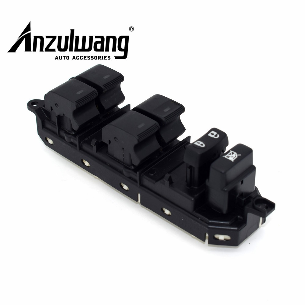 ANZULWANG 84040-33100 Electric Power Window Master Control Switch for Toyota Camry Land Cruiser Prius Venza 1.8,2.4,2.5,2.7,3.5L