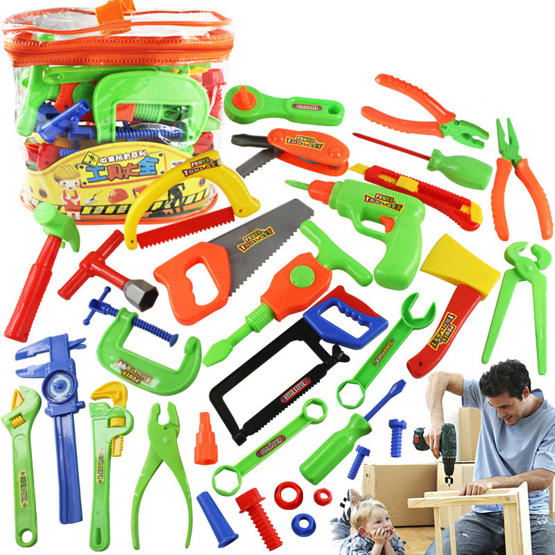 1 Set Kid Educational Toy Tools Toys Plastic Instruments Kit Kitchen Toys Pretend Play Funny Kitchen Food Play T30
