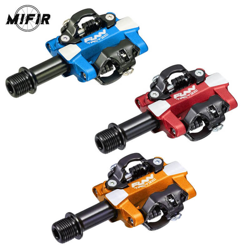 TACTIC Aluminum Alloy Bike Pedals DU bush Sealed Casette Bearing Pedal MTB Mountain Road Bike Bearing Pedals CrMo Axle цены