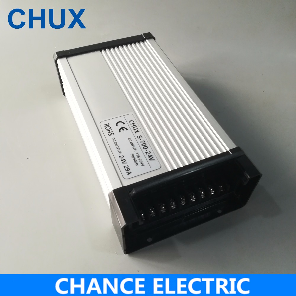 700W Led Driver Rain-Proof Switching Mode Power Supply 220VAC to 12v 24v 36v 48v Led Outdoor Rainproof Power Supply