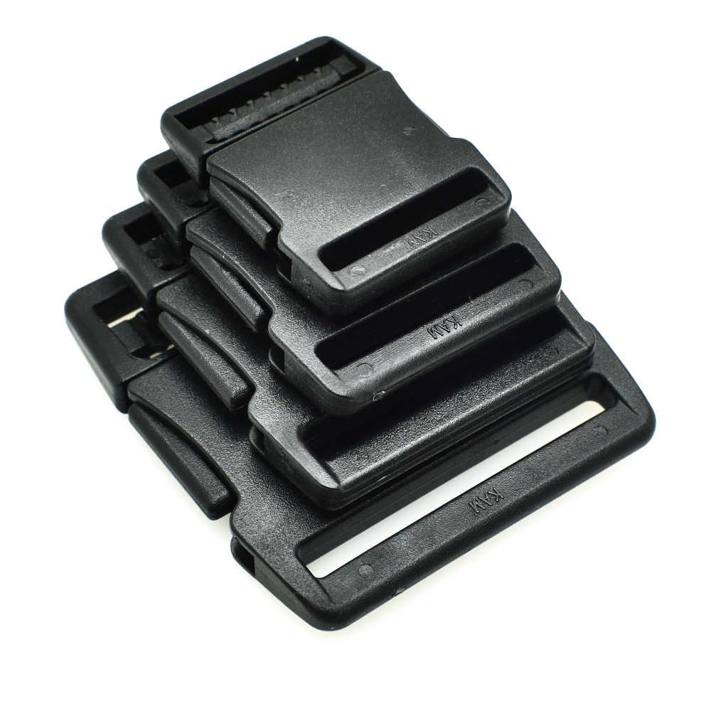 20mm 25mm 30mm 38mm Anyaman Side Rilis Gesper Untuk Tali Bagasi Ransel Taktis Luar tas olahraga aksesoris