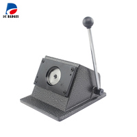 New Heavy Duty manual Round 58 mm 2 1/4 button paper cutter cutting size round die 70mm