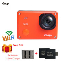 Gitup Git 2P 1 5 LCD Professional WiFi Waterproof HD DVR Helmet Sports HDMI Camcorder For