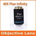 40X Infinity Plan ахроматическая объективная линза для образовательной лаборатории школы Olympus Biomicroscope Биологический микроскоп 20 2 мм
