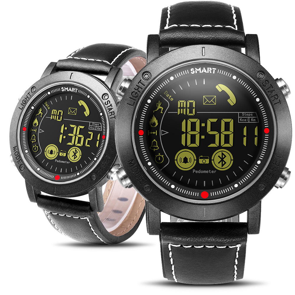 Bluetooth Men Smart Watch Sport pedometer Waterproof Call Reminder digital men SmartWatch Wearable Devices For ios Android Phone