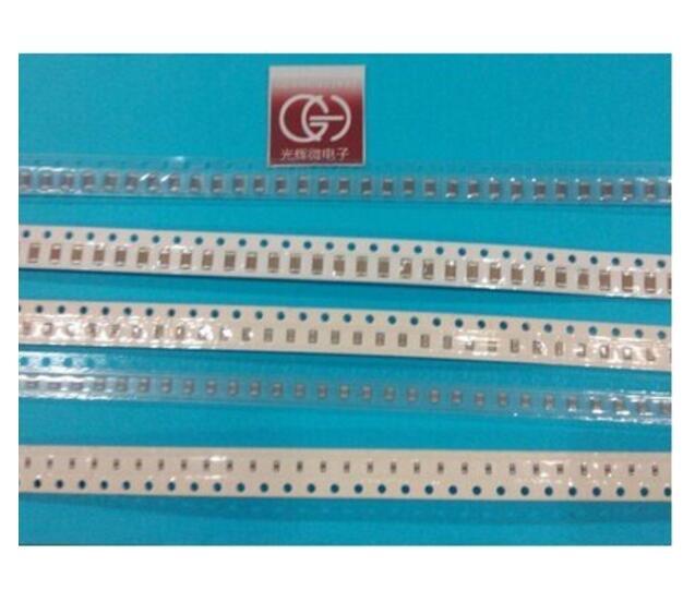 500pcs/reel 50V 0805 SMD Chip Multilayer Ceramic Capacitor 100nF 104k 0.1uf 4000pcs 1608 0603 56nh chip smd multilayer high frequency inductor