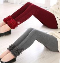Boutique Lace Striped Girls Leggings 2019 Spring Autumn Children Pants for Kids Korean Princess Slim Child Leggings YP671 цена и фото