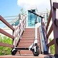 Оригинальный Ruima mini 4 Pro Смарт Электрический Скутер Складной 36В/48В 45км/ч двойная подвеска Kickscooter двухколесный скейтборд