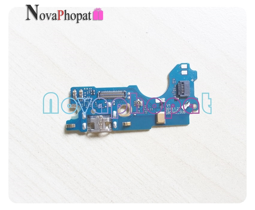 Novaphopat For <font><b>BQ</b></font> <font><b>BQ</b></font>-6015L Universe Charger Port USB Dock Charging Port Connect Connector Flex Cable Microphone MIC ; 10pcs/lot image