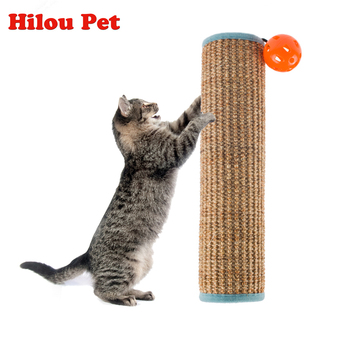 New Natural Sisal Scratching Post Toy