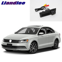 LiandLee كاميرا للرؤية الخلفية لعكس الرؤية في صندوق السيارة لسيارات فولكس فاجن وجيتا/فينتو MK6 A6 5C6 2011 ~ 2018