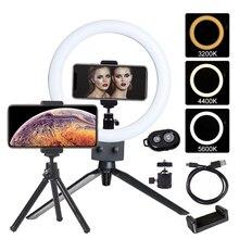 Fotoconic 9 «23 см затемнения светодиодный кольцо света 3200-5500 K с мини-штатив и Bluetooth пульт дистанционного управления для телефона Камера селфи фото видео