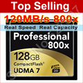 120MB/s Brand 800x 128GB CompactFlash Card UDMA 7 VPG CF Compact Flash Memory Card For DSLR Cameras 1080p HD Video Camcorder DV