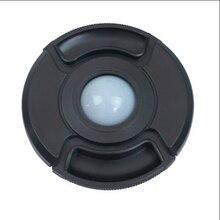 2в1 58 62 67 77 мм Баланс белого WB Центральная защелкивающаяся Крышка передняя крышка фильтра объектива 2 в 1 для камеры canon nikon sony