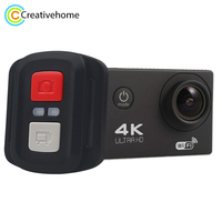 HAMTOD HK2TR HD 4K WiFi Sport Camera with Remote Control & Waterproof Case,2.0 inch LCD Screen, 170 Degree A Wide Angle Lens